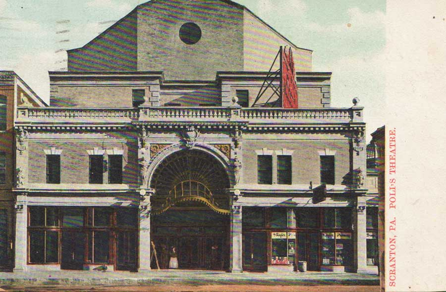 Postcard of the Poli Theater